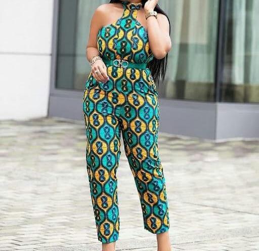 African Dresses jumpsuit