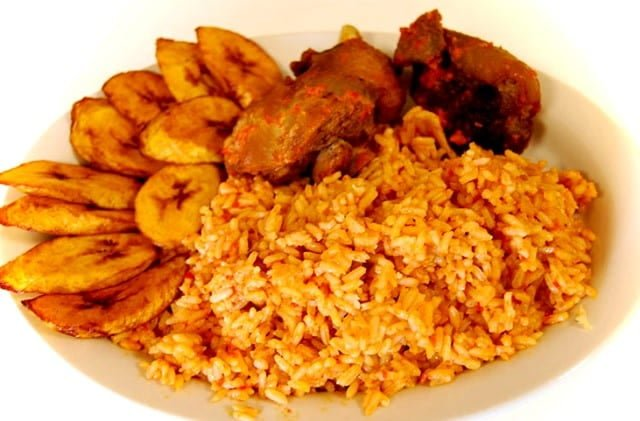 Popular African Foods Jollof Rice