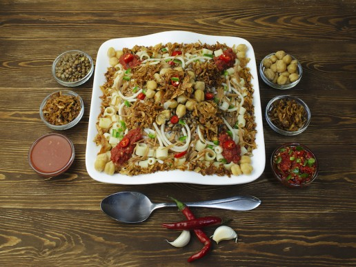 Popular African Foods Koshari Egypt