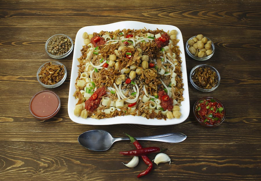 Popular African Foods Koshari Egypt