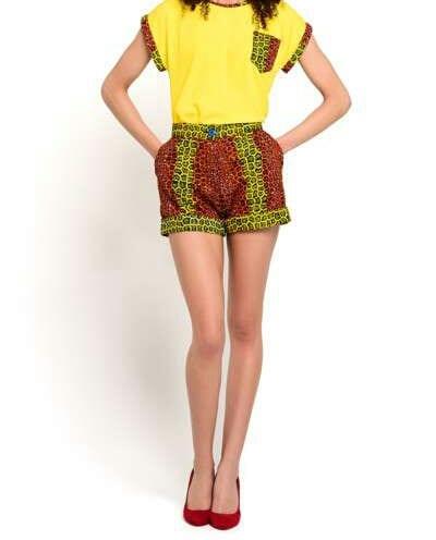 African Dresses Ankara Shorts
