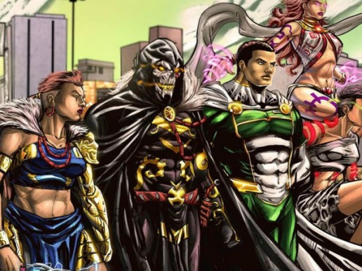 Super Heroes with African Roots