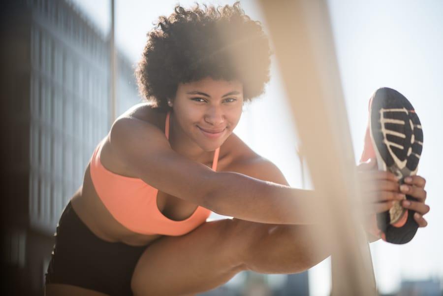 Beauty secrets for black women excercise running