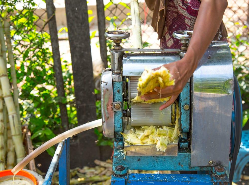 mauritius dishes from mauritius sugarcane-juice