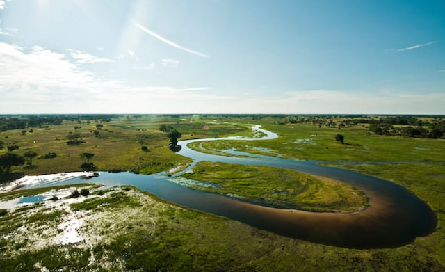 15 Things To Do In Botswana For The Whole Family helicoper horizons in botswana