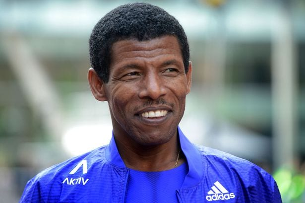 African Sportsmen Haile Gebrselassie