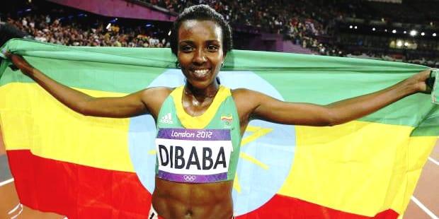 African Sportsmen Tirunesh Dibaba