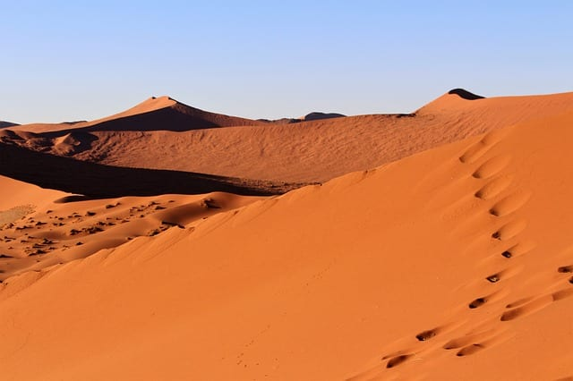 Namibia Travel Guide dune