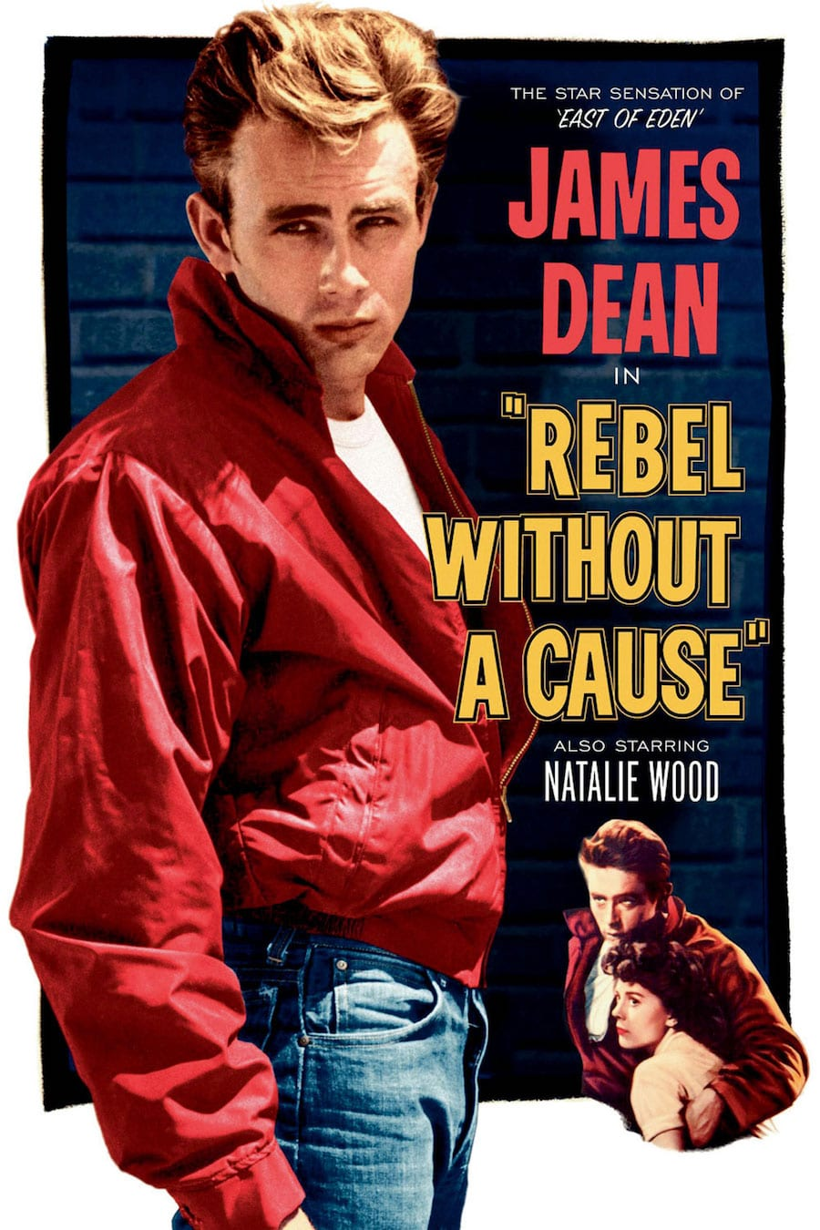 Reimagining Movie Icons Vanichi James Dean Rebel Without A Cause Movie Poster