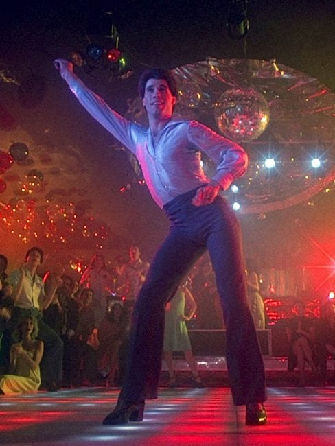 Reimagining Movie Icons Vanichi Travolta SNF dancing1 e1539112470580