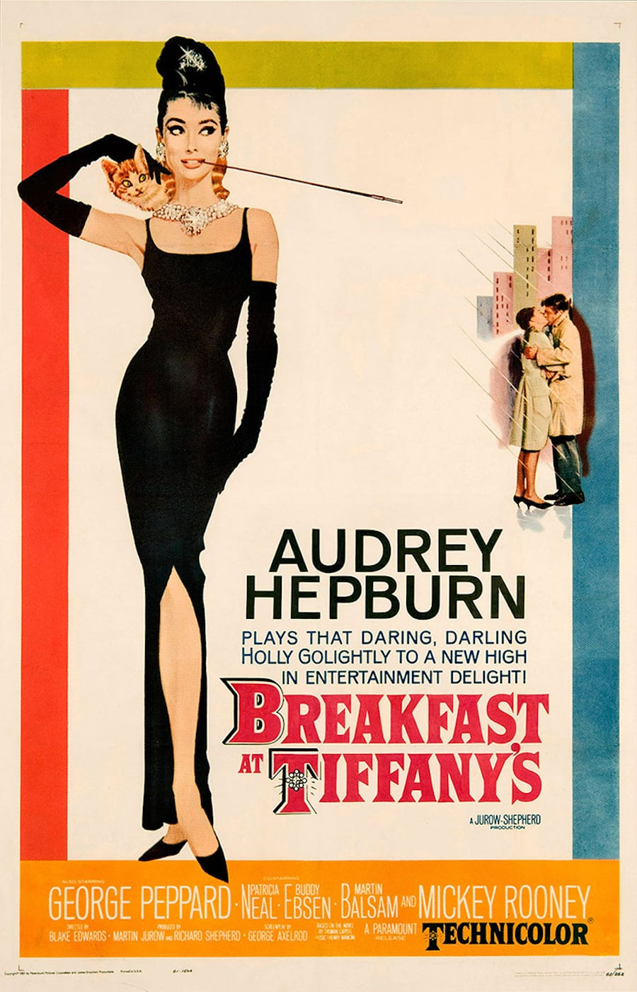 Reimagining Movie Icons Vanichi breakfast at tiffanys poster