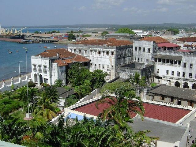 Stone Town Zanzibar Sultans Palace Zanzibar