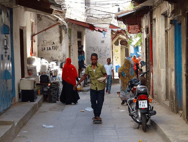 Stone Town Zanzibar stone town alley