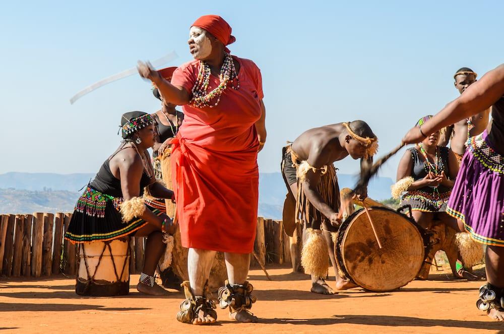 Zulu Dance Phezulu Village