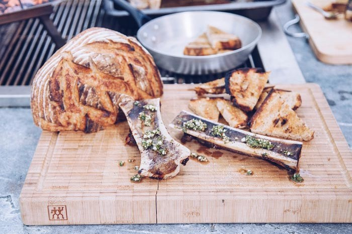 Smokey bone marrow
