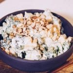 Clover Cheese broccoli salad