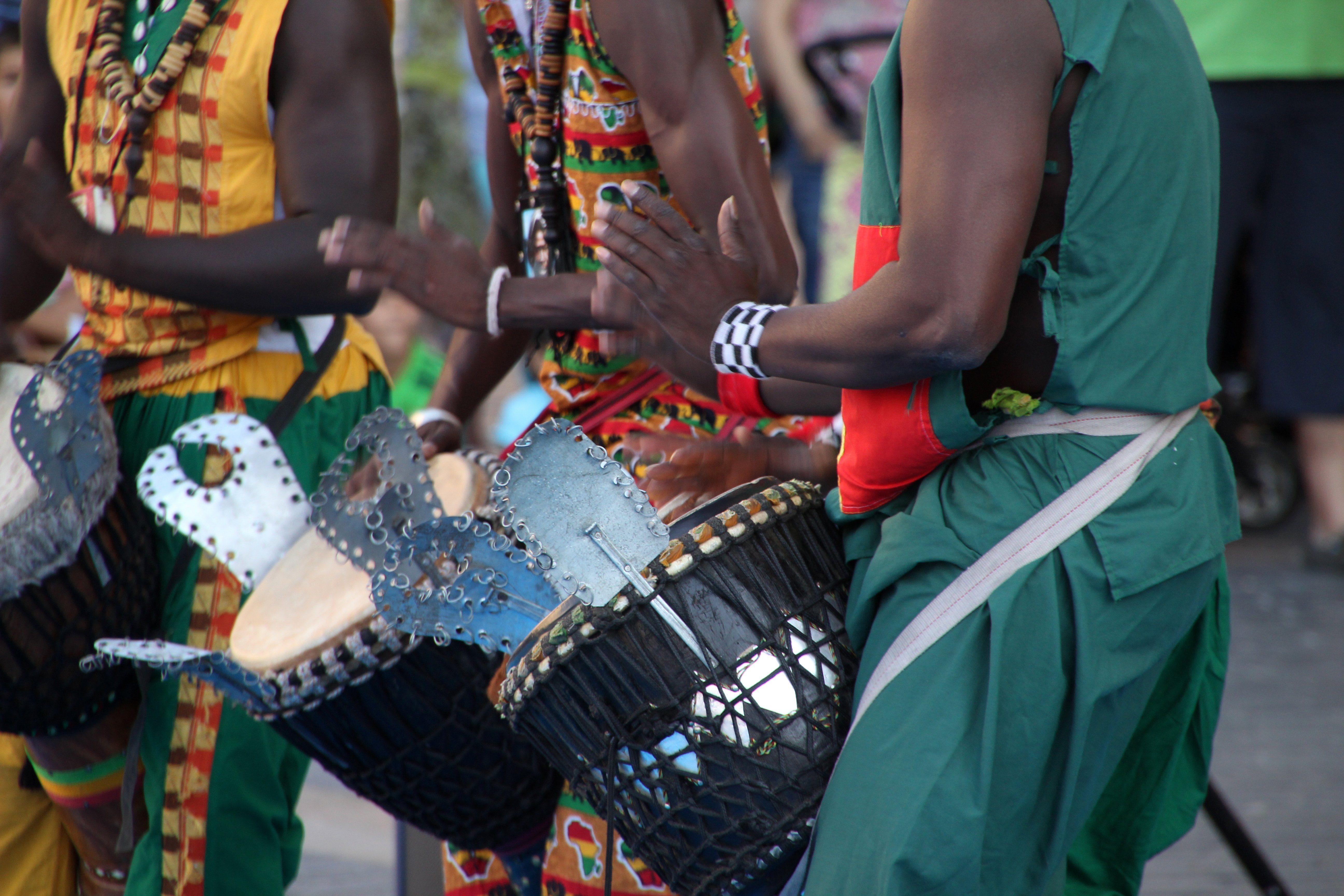 senegal drummers