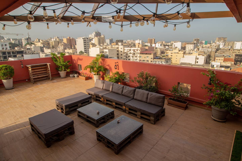 dakar airbnb roof