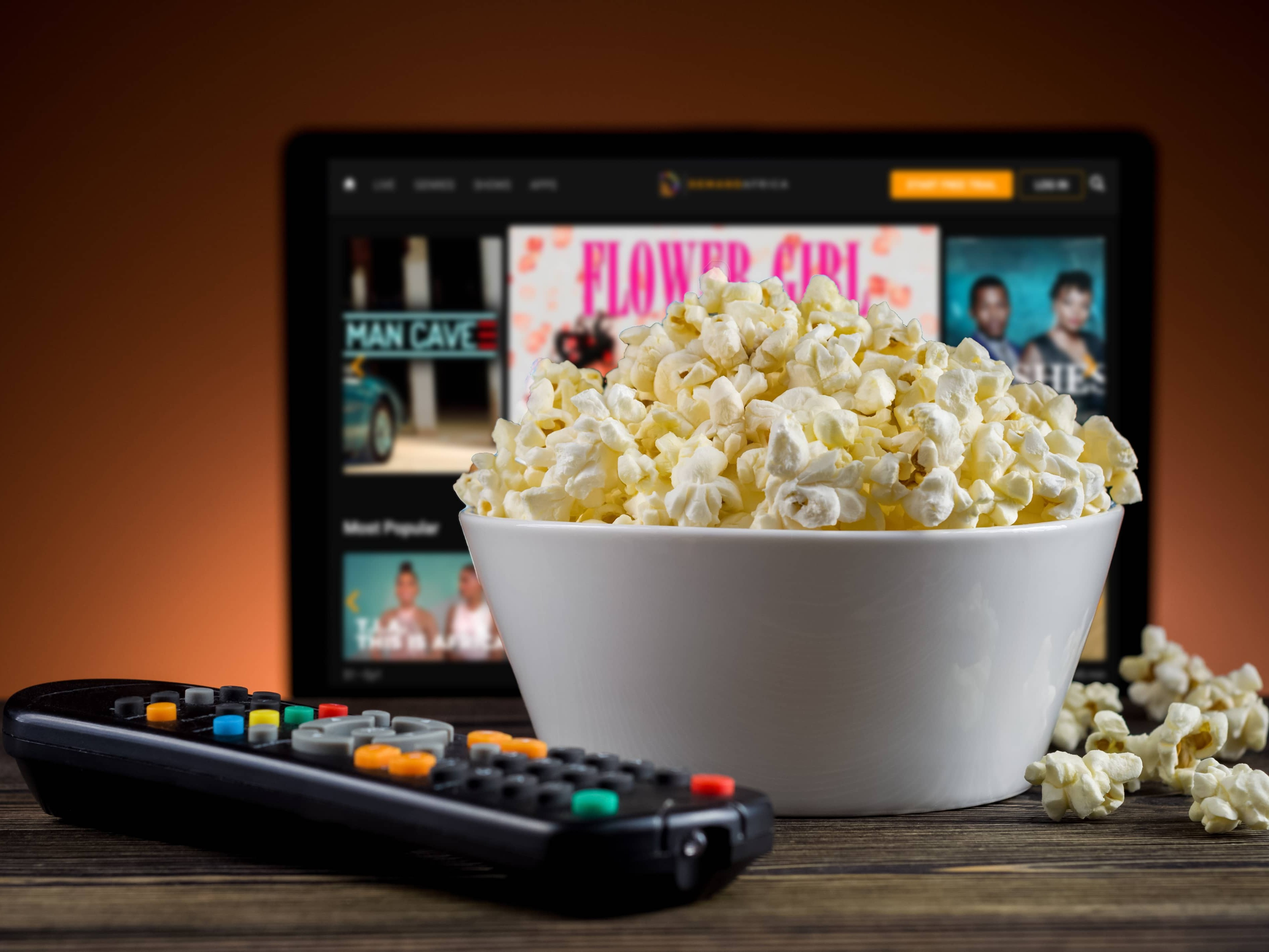 Most Popular Shows and Movies on Demand Africa