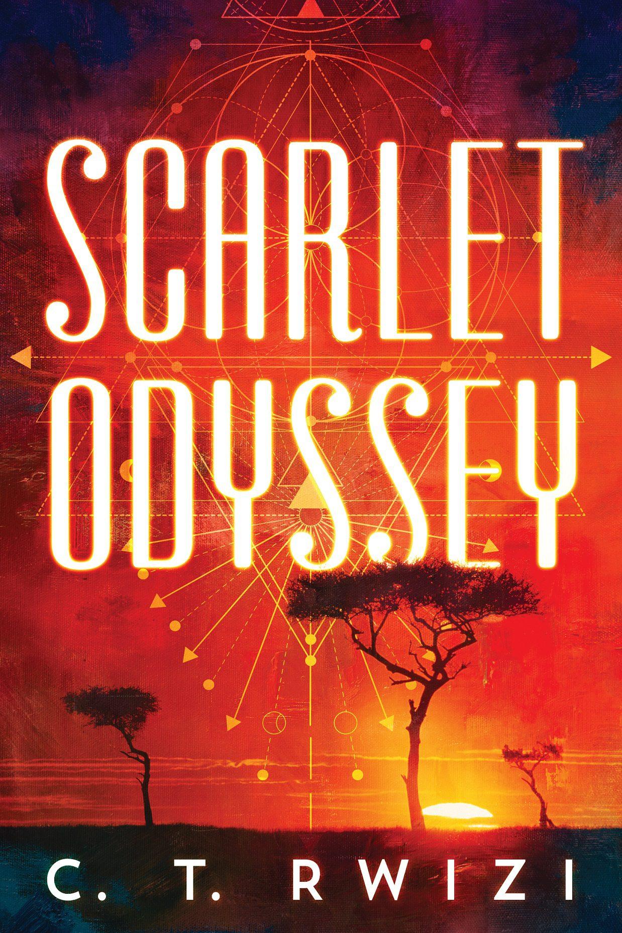 Scarlett Odyssey cover
